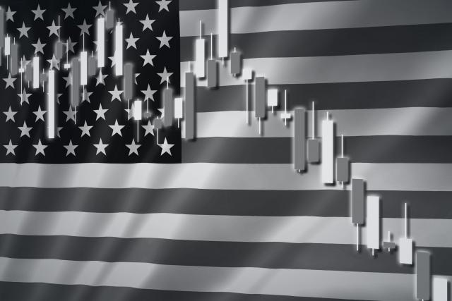 アメリカの市場の暴落