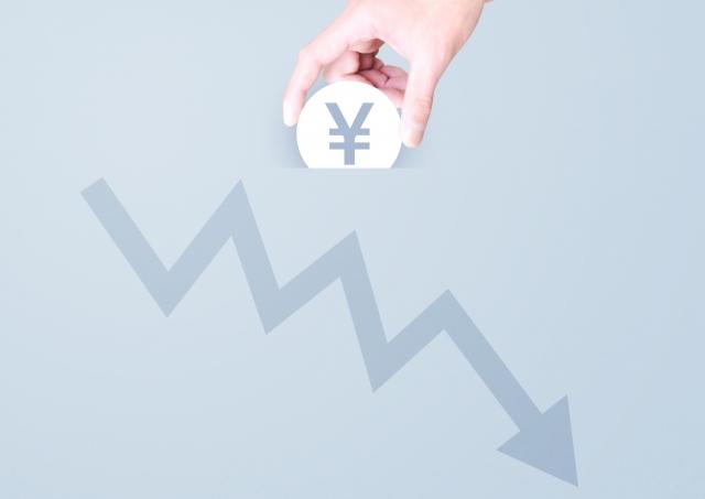 市場の下落