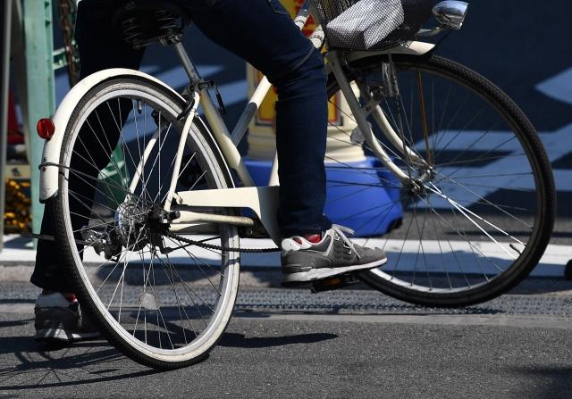 自転車で副業する人