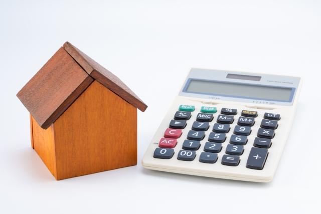 不動産投資と電卓